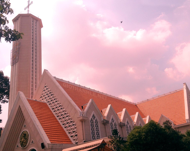 Kết quả hình ảnh cho nhà thờ chúa cứu thế kỳ đồng sài gòn