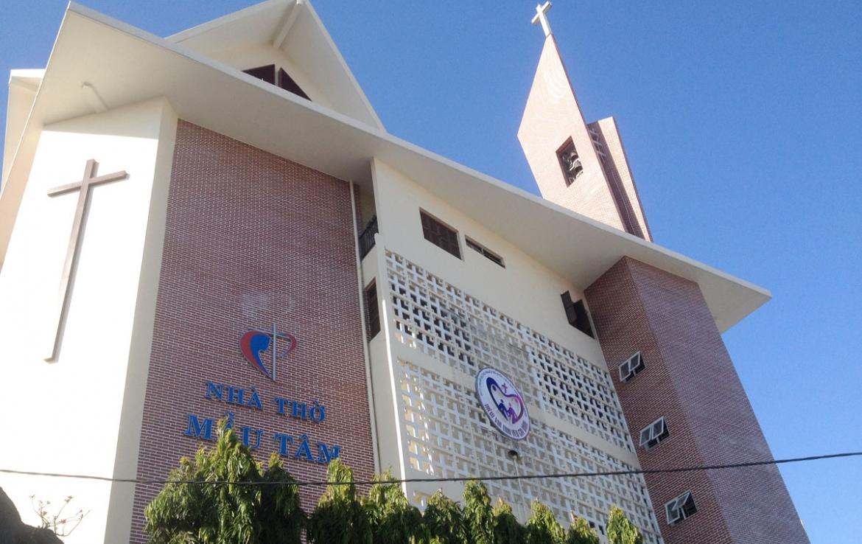 nhà thờ mẫu tâm quận 7