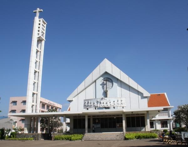Nhà thờ tân hương tân phú tphcm