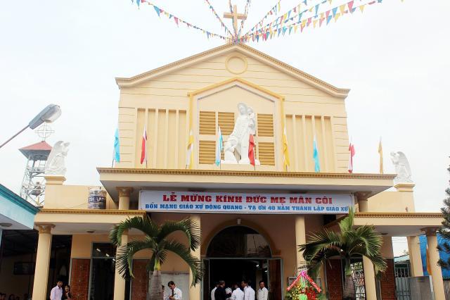 Nhà thờ đông quang quận 12