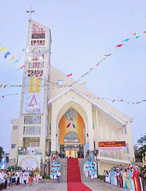 nhà thờ nam hải quận 8