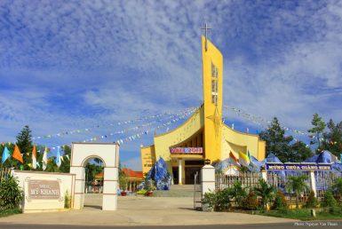 Nhà Thờ Giáo Xứ Mỹ Khánh
