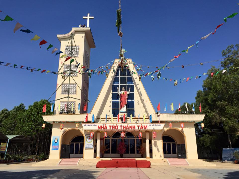 Nhà Thờ Giáo Xứ Tân Thông