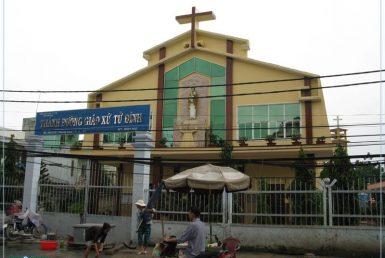 nhà thờ giáo xứ tử đình
