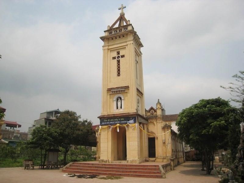 Nhà Thờ Giáo Họ Ngọc Mạch Giáo Xứ Cổ Nhuế