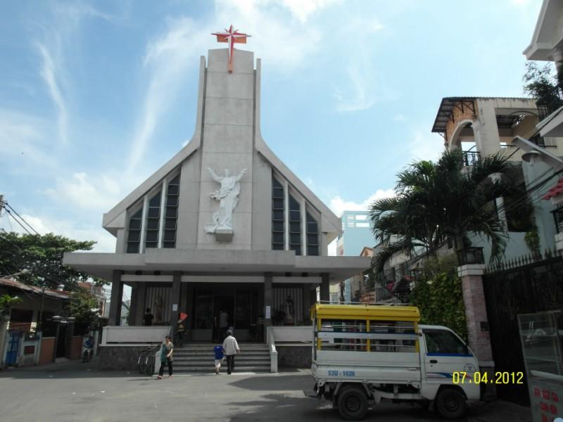 nhà thờ tân hưng gò vấp