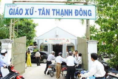 Nhà Thờ Giáo Xứ Tân Thạnh Đông